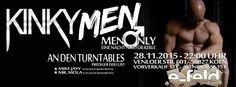 Fetisch >> KINKY MEN, Köln am Samstag, 28.11.2015 22:00