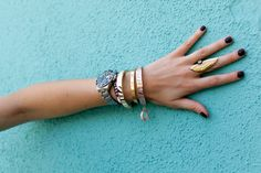 SAL Y LIMON BANGLES #accessories / The Blonde Salad on spritzi.com / Spritzi, fashion blogs news in real time #fashion