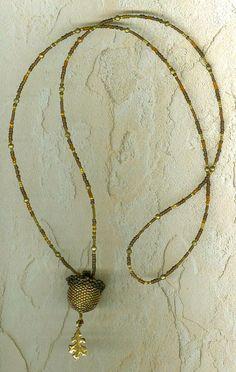 Acorn Bead A Beading Pattern by StonyCreekBead on Etsy, $4.00