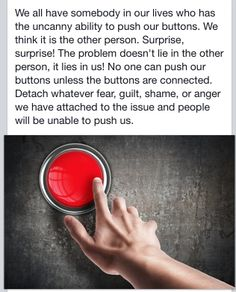 Detach and the narc won't be able to push your button anymore !!