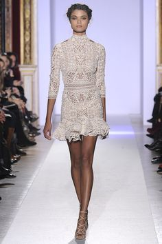 flirty lace - zuhair murad spring 2013 couture