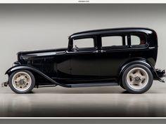 Ford Classic Cars, Classic Trucks, Custom Muscle Cars, Custom Cars, Fancy Cars, Cool Cars, Old Ford Trucks, Panel Truck, Classic Hot Rod
