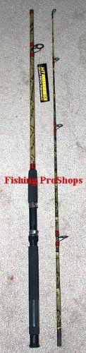 "HT 7' ""Camo"" Cat Hunter 2 pc. Spinning Rod - MH - http://bassfishingmaniacs.com/?product=ht-7-camo-cat-hunter-2-pc-spinning-rod-mh"