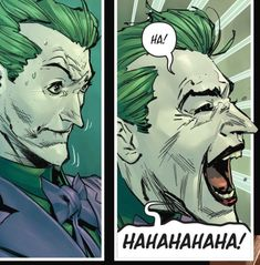 My view of the world around me. Bat Joker, Joker Arkham, Joker Pics, Joker Art, Joker And Harley Quinn, Joker Dc Comics, Joker Comic, Comic Villains, Best Villains