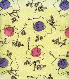 """""""Grochy i róże"""" ALeksandra Michalak-Lewińska  – wz. nr 7020 (1955) archiwum IWP"""