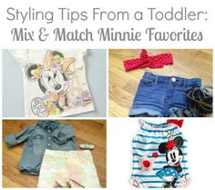Styling Tips From a Toddler: Mix And Match Minnie Favorites #disneybaby