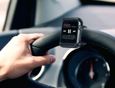 Satechi Apple Watch Mount - Apple Watch Halterung