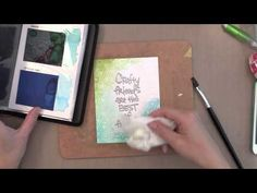 Awesome video by Jennifer McGuire for Simon Says Stamp using Hero Arts and Watercolor for three fun Friendship cards.  Stamptember 2014