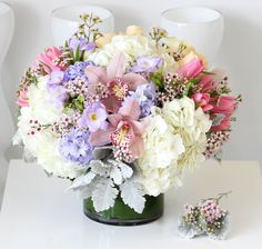 Send the Blissful bouquet of flowers from Sonny Alexander Flowers in Los Angeles, CA. Local fresh flower delivery directly from the florist and never in a box! Fake Flowers, Flowers Nature, Beautiful Flowers, Bouquet Of Flowers, Floral Wedding, Wedding Flowers, Unique Flower Arrangements, Fresh Flower Delivery, Mothers Day Flowers
