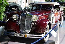 1938 Horch 853 Sport Cabriolet (1938)