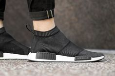 Adidas NMD City Sock Black/White | Sole Collector || Follow @filetlondon for more street style #filetclothing