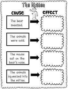 math worksheet : 1000 images about school on pinterest  first grade  : Cause And Effect Kindergarten Worksheets