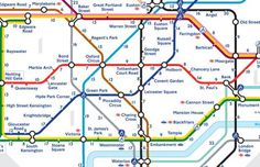London's first official map showing how long it takes to walk between tube stops