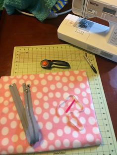 """This is my very first tutorial for anything so bear with me through it! What you need: - Sewing machine - 1/2 yard fleece - 24"""" jacket..."""