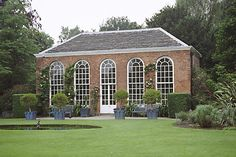 Dunham Massey orangery 1720