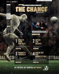 THE CHANCE – NIKE.  http://www.gustavarnetz.net/