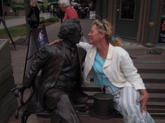 But that's me with me another man. Sir John A. MacDonald in Charlottetown. Bear with me a moment, I've had a long week of words --this is all connected.
