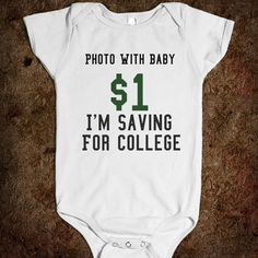 Saving for college..wherr was this when McKenna was born. Cassie would have funded the first year!!
