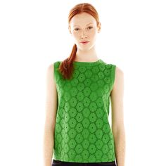 Joe Fresh™ Sleeveless Lace Top $29