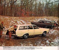 1966 Ford Fairlane wagons