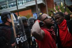 Protest Ends in Clash With Baltimore Police -- NYMag