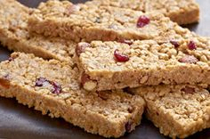 Peanut butter and oats always make awesome granola bars, but crisp rice cereal, honey and brown sugar up the yum factor in this No-Bake Granola Bars recipe.