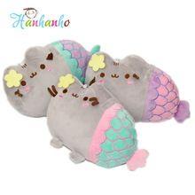 20cm Cute Pusheen Cat Cosplay Mermaid Plush Toy Stuffed Animal Doll Toy For…