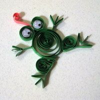 Frog #quilling