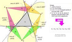 115 (ESL): Triangulo, Excentros, Circunferencias Exinscritas, Puntos ...