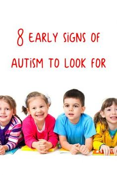 Sometimes it may be difficult to pick out the early signs of autism. Here are 8 that you should be aware of.