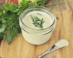 Dairy Free Ranch Dressing.  Vegan, gluten free, soy free and paleo