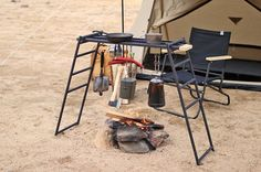 Camping Table, Camping Equipment, Diy Home Crafts, Drafting Desk, Tequila, Modern Furniture, Tent, Survival, Wood