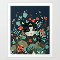 https://society6.com/product/curious-cat-wr2_print?curator=bestreeartdesigns.  $17.68
