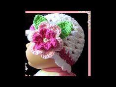 Gorros tejidos a crochet bien facil de tejer todas las tallas - YouTube