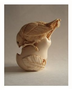 Bird on a pear by Oleg Doroshenko