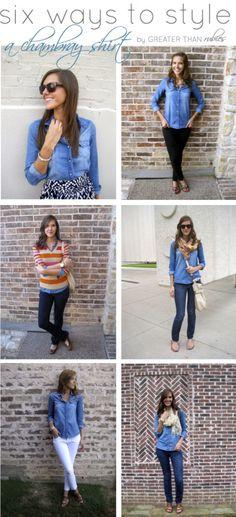 6 ways to style
