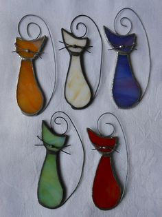 20 % sale Cat kitty suncatcher stained glass par diversity4u