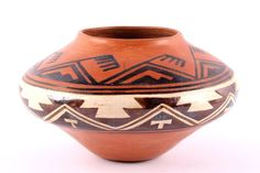 Native American Historic Zuni Poly-chrome Pottery Olla, Circa 1880-1890, #829