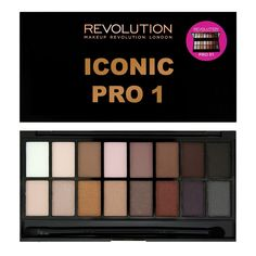 Makeup Revolution - Iconic Pro 1 Eyeshadow Palette ($10.95) *Dupe for Lorac Pro Palette*