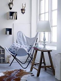 {ARATORP: Nytt från Bloomingville} butterfly chair
