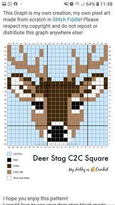 Pixel Crochet, Crochet Cross, C2c Crochet, Xmas Cross Stitch, Cross Stitching, Cross Stitch Embroidery, Cross Stitch Designs, Cross Stitch Patterns, Pixel Art