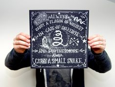 Whiskey and Snakes Screen Print | 18 Gifts That Whiskey Lovers Will Certainly Love
