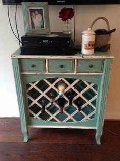 Washington DC: Rustic wine rack and side table $150 - http://furnishlyst.com/listings/358233