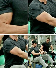 Sebastian Stan, I just want to touch his muscles, Daaaaaamn