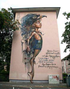 Herakut~Mannheim,  Germany