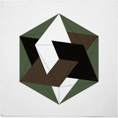 #257 Three golden rectangles in an icosahedron – It's findings like these that proof to me that the universe is based on something meaningful. – A new minimal geometric composition each day