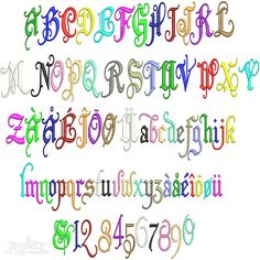Old English Embroidery Font | Apex Embroidery Designs, Monogram Fonts & Alphabets