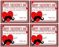 Printable Valentine Card - Redbox Valentine Card - Happy Valentine's Day - Instant Download