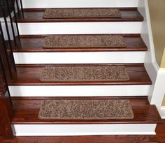 "Dean Premium Stair Gripper Tape Free Non-Slip Pet Friendly DIY Carpet Stair Treads 30""x9"" (15) - Rivers Edge - Dean Stair Treads"