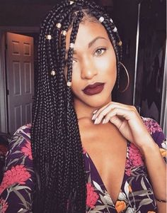 Long braided hairstyles for african american women